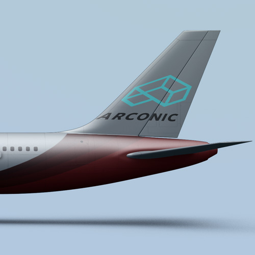 Client Arconic - DCVO design webdesigner graphiste toulouse