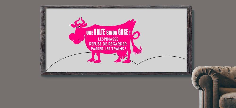 Client Mairie Lespinasse - DCVO design webdesigner graphiste toulouse