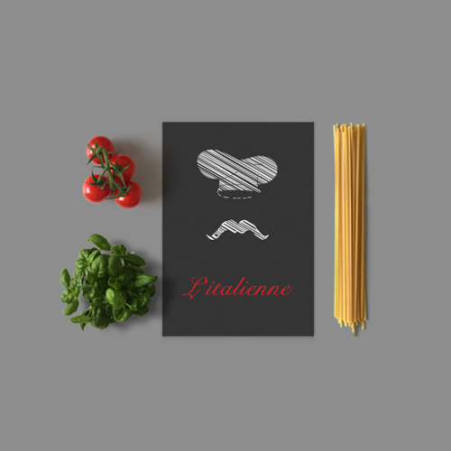 Client L'italienne - DCVO design webdesigner graphiste toulouse